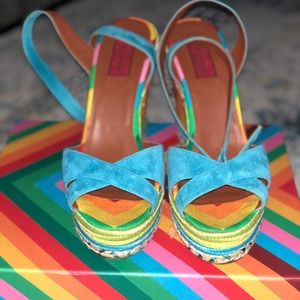 Valentino 1973 chevron stripe ( rainbow edition)